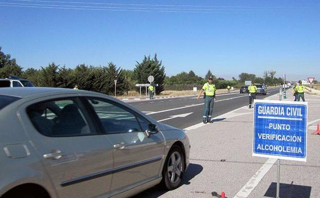 Control de alcoholemia de la Guardia Civil/BC