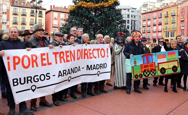 Manifestación de esta mañana por la reapertura del Directo/CLR