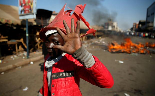 Incidentes en Zimbabue. /Philimon Bulawayo (Reuters)