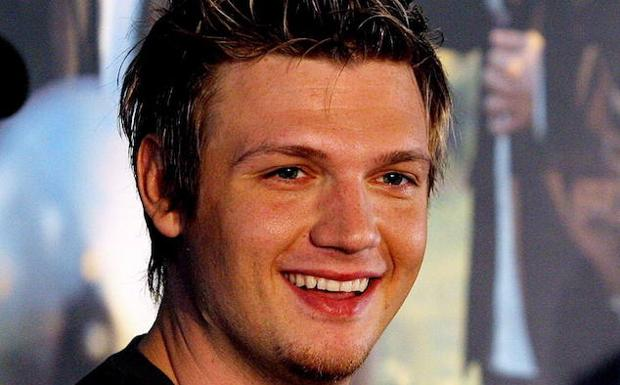 Nick Carter, miembro de 'Backstreet Boys'.