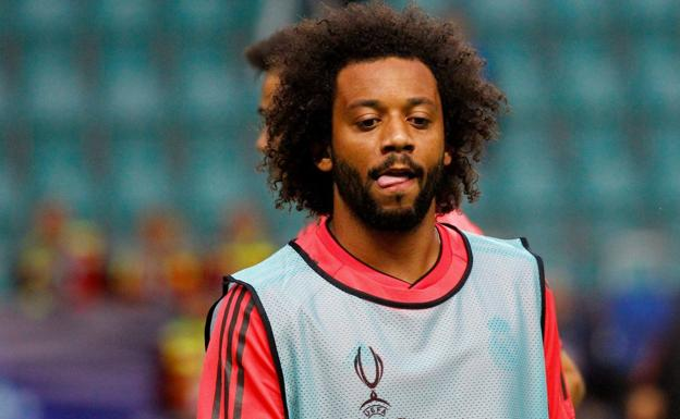 Marcelo, futbolista del Real Madrid. /Efe