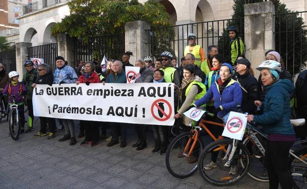 La acción ha arrancado en la Subdelegación del Gobierno/Ricardo Ordóñez/ICAL