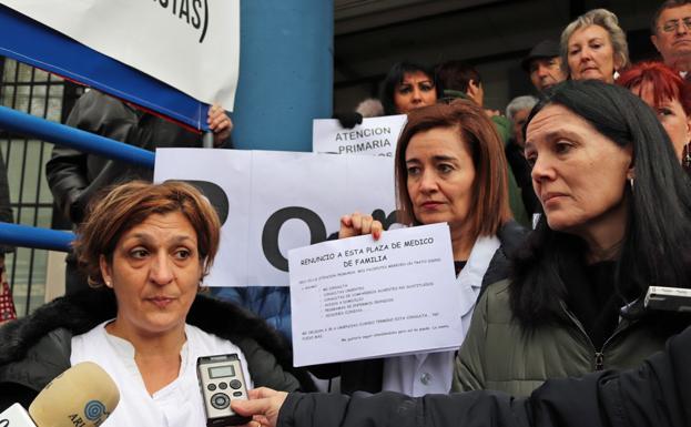 Nuria Adrián, Sonia Andrés y Pilar Obrergón han explicado su situación