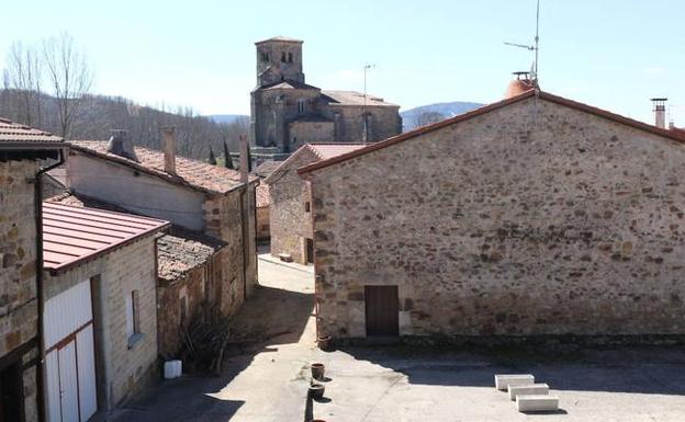Jaramillo Quemado (Burgos), el pueblo con menos vecinos de Castilla y León. /Henar Sastre