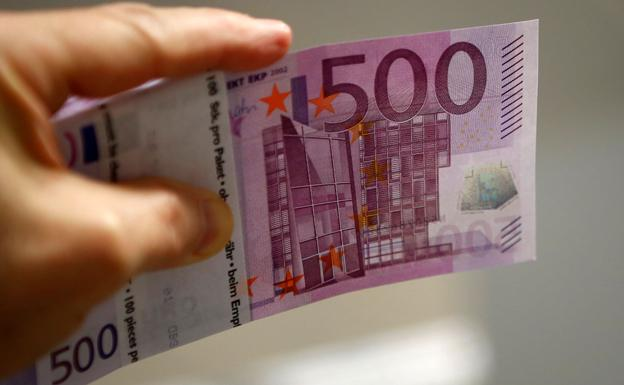 Billete de 500 euros./Reuters