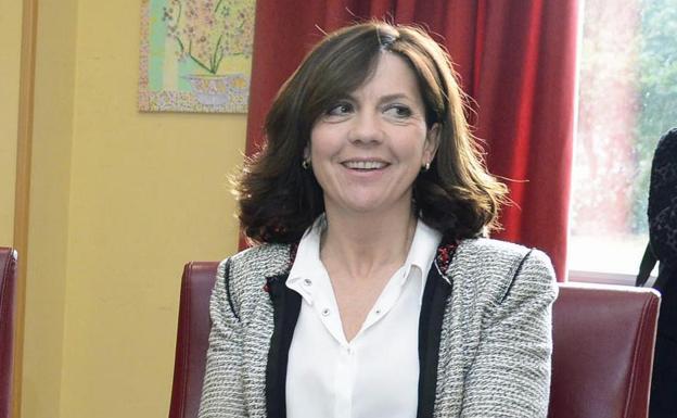 Marta Arroyo, actual alcaldesa del PP en Salas de los Infantes. /Ricardo Ordóñez / Ical