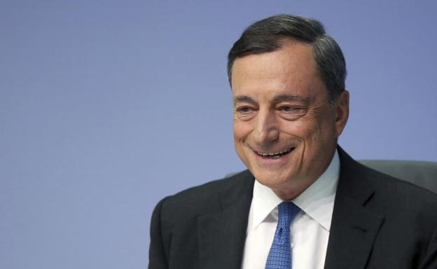 Mario Draghi, presidente del Banco Central Europeo./EFE