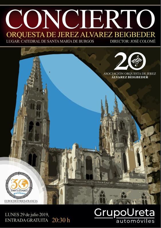 La Catedral acogerá un concierto de la Orquesta de Jerez Álvarez Beigbeder el 29 de julio