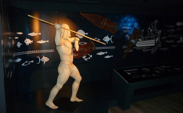 Espacio dedicado a la pesca en Pisórica (Melgar de Fernamental).