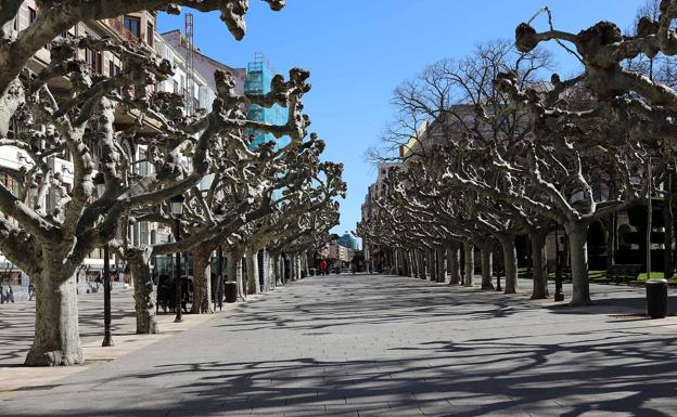 Resultado de imagen de calles vacias en brgos