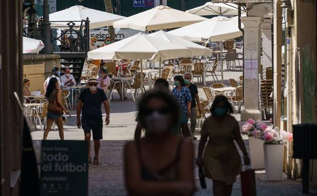 Aranda de Duero es una de las tres zonas de la región que está confinada./César Manso  AFP