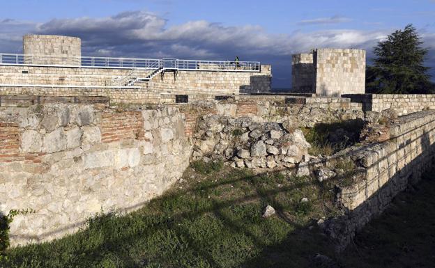El Castillo de Burgos está rehabilitado y es visitable./Ricardo Ordóñez | ICAL
